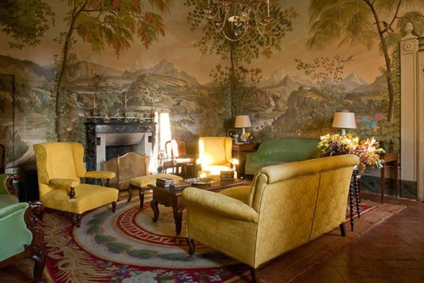 Castello Sonnino interiors
